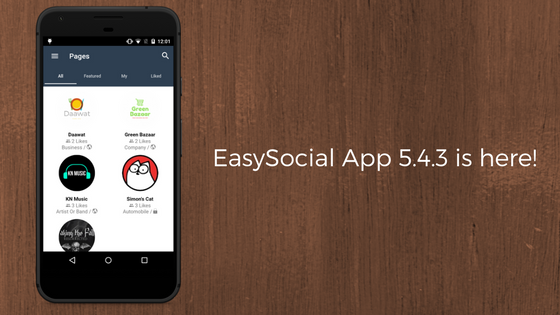 EasySocial-App-5.4.3-is-here