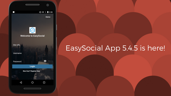 EasySocial-App-5.4.5-is-here