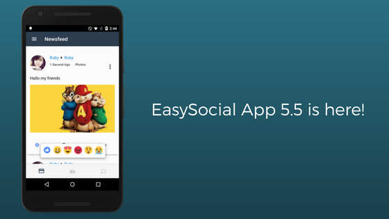 EasySocial-App-5.5-is-here