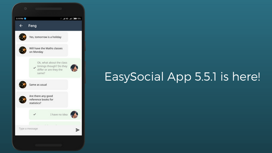 EasySocial-App-5.5.1-is-here