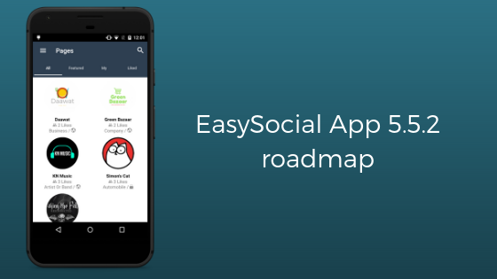 EasySocial-App-5.5.2-roadmap