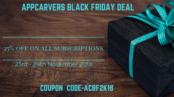 Appcarvers-Black-Friday-Deal