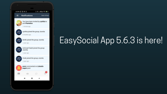 EasySocial-App-5.6.3-is-here