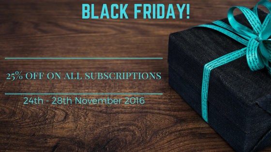 Celebrate this festive season with AppCarvers Black Friday Deals!