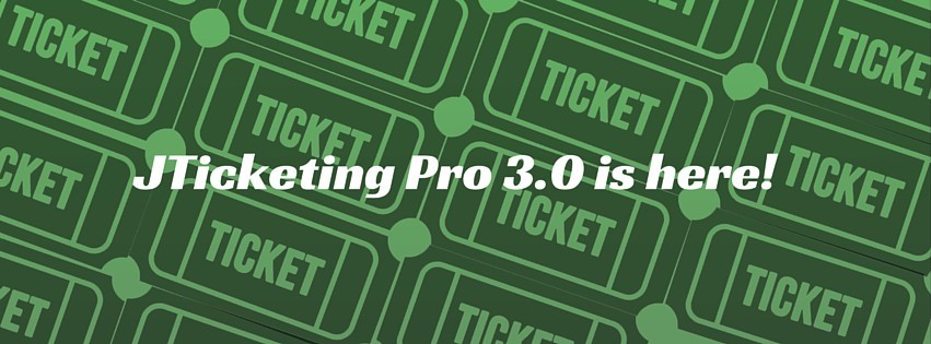 JTicketing Pro 3.0 is here with ticket scanning and more!