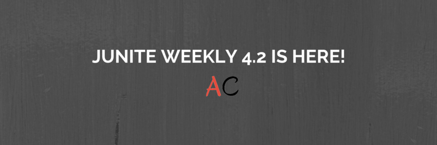 Advanced Filtering for Events with jUnite Weekly 4.2!