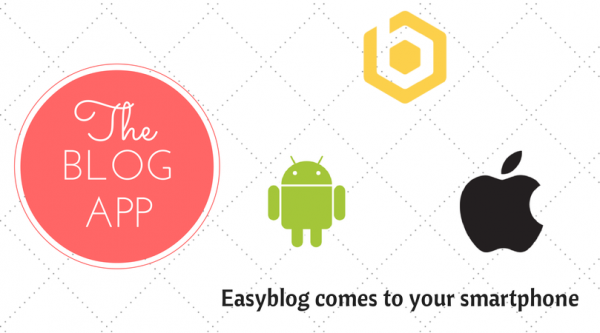 "EasyBlog now at your fingertips with ""The Blog App""!"